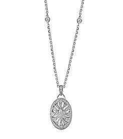 Effy® 14K White Gold Diamond Pendant Necklace