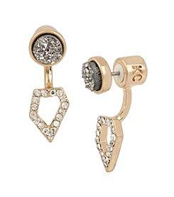 Kenneth Cole® Geometric Ear Jackets