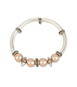 Kenneth Cole® Blushtone Pearl Stretch Bracelet