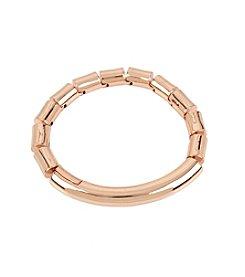 Kenneth Cole® Rose Goldtone Bar Bracelet