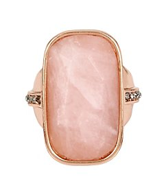 Kenneth Cole® Rose Quartz Stone Ring