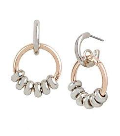 Kenneth Cole® Two Tone Earrings