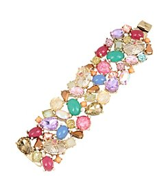 Betsey Johnson® Assorted Stone Bracelet