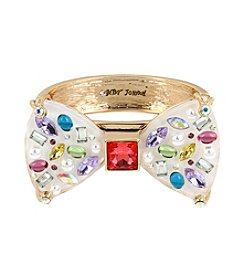 Betsey Johnson® Bow Bangle Bracelet