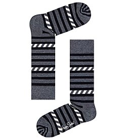 Happy Socks® Men's Stripes & Stripes Socks