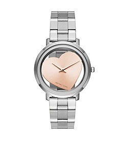 Michael Kors® Jaryn Two Hand Heart Watch