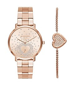 Michael Kors® Jaryn Watch and Bracelet Gift Set