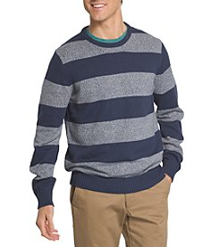 Izod® Men's Striped Crew Neck Sweater