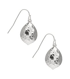 Nine West Vintage America Collection® Silvertone Drop Earrings