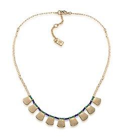 Lauren Ralph Lauren Dream Weaver Frontal Necklace