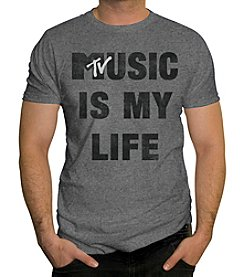Changes Men's Short Sleeve MTV Music Is My Life Tee