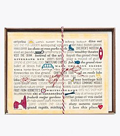 Tandem for Two Grand Rapids Bucket List Notecards