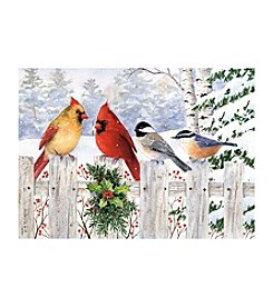 LPG Greetings 20-Ct. Birds Holiday Cards With Keepsake Box