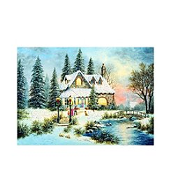 LPG Greetings 20-Ct.  Holiday Scenes Holiday Cards With Keepsake Box