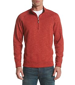 Tommy Bahama® Men's Slubtropic Reversible Half Zip Sweatshirt