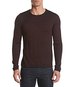 Calvin Klein Men's Color Striped Merino Blend Sweater