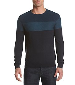 Calvin Klein Men's Colorblock Merino Blend Sweater