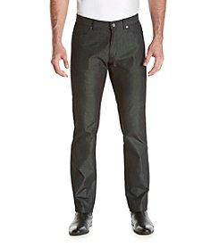 Calvin Klein Men's Slim Fit Textured Dobby Pants