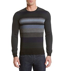 Calvin Klein Men's O Pop Stripe Crew Neck Sweater