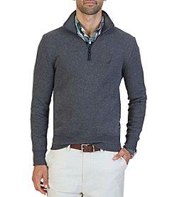 Nautica® Men's Windward French Rib 1/4 Zip Pullover