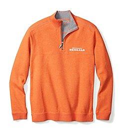 Tommy Bahama® NFL® Cincinnati Bengals Men's Flipside Pro 1/2 Zip Pullover