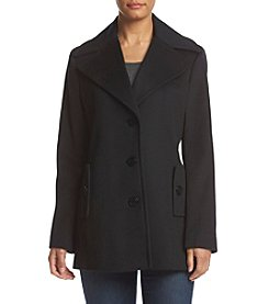Calvin Klein Button Front Coat