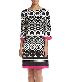 Jessica Howard® Matte Jersey Shift Dress