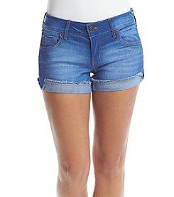 Celebrity Pink Fray Cuff Shorts