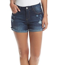 Hippie Laundry Destructed Fray Hem Shorts