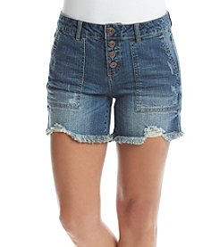 Hippie Laundry Button Front Shorts