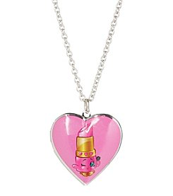 Shopkins™ Children's Lippy Lips Heart Locket Pendant Necklace