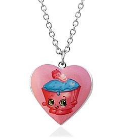 Shopkins™ Children's Cupcake Chic Heart Locket Pendant Necklace
