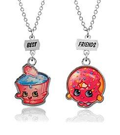 Shopkins™ Children's Best Friends Cupcake Chic & D'lish Donut Necklace Set