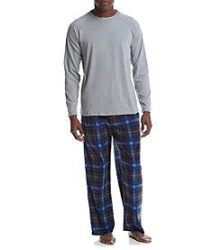 John Bartlett Statements Men's Knit Fleece PJ Set