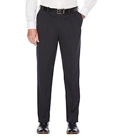 Savane® Men's  Straight Fit Pleated Performance Stretch Chino