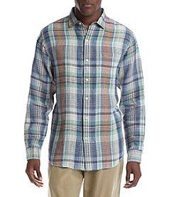 Tommy Bahama® Men's Mas Madras Long Sleeve Button Down Shirt