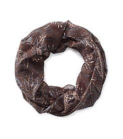 Cejon® Autumnal Pretty Paisley Loop Scarf