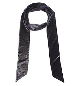 Steve Madden® Luminescent Velvet Long And Skinny Scarf