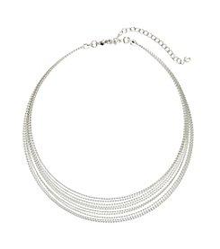 Napier® Multi Row Collar Neckalce