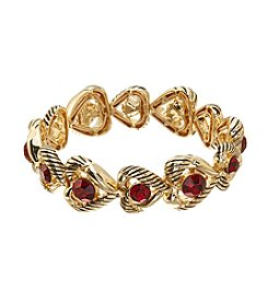 Napier® Heart Stretch Bracelet