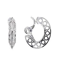 Napier® EZ Comfort Clip Hoop Earrings