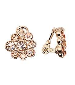 Napier® EZ Comfort Clip Cluster Earrings