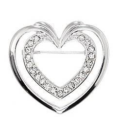 Napier® Boxed Heart Pin