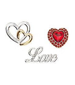 Napier® Boxed Love Pin Set
