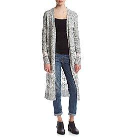 Sequin Hearts® Long Sleeve Print Cardigan