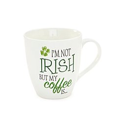 Pfaltzgraff Im Not Irish But My Coffee Is Mug