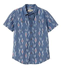 Ruff Hewn Boys' 8-20 Short Sleeve Woven Shirt