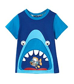 Mix & Match Boys' 2T-4T Short Sleeve Graphic Shark Tee