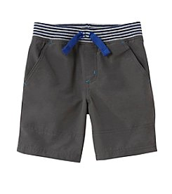 Mix & Match Boys' 2T-4T Knit Waistband Cotton Nylon Shorts