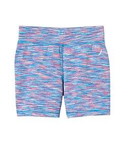 Exertek® Girls' 7-16 Space Dye Bike Shorts